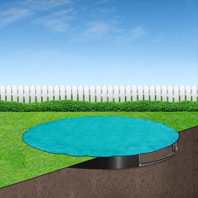 Capital In-Ground Trampoline Weather Cover