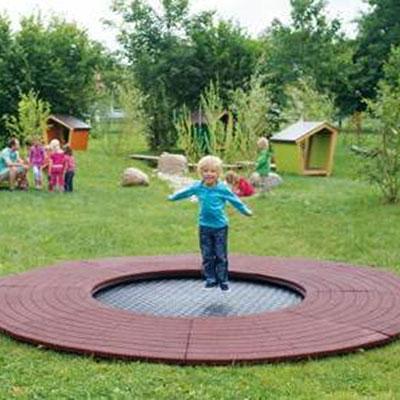 wehrfritz-fun-playground-trampoline3 sunken trampoline in ground trampoline